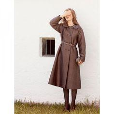 Manteau croisé n°104 de Burda Style Septembre 2013