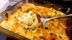 Makkelijke Prei Rosti schotel met spekjes Dutch Recipes, Cooking Recipes, No Cook Meals, Kids Meals, Tapas, Eating Alone, Oven Dishes, Comfort Food, Fabulous Foods