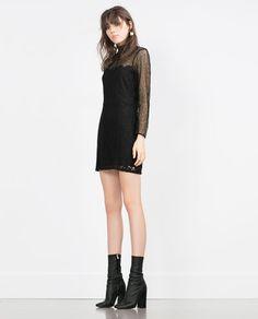 LACE DRESS // Zara