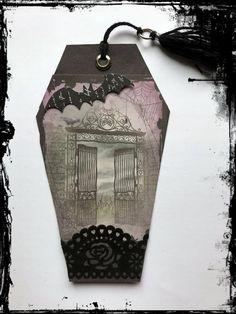 #Gothic #Grufti #Friedhof #Fledermaus #VivelaVigo Gothic, Casket, Marque Page, Craft, Goth, Goth Style