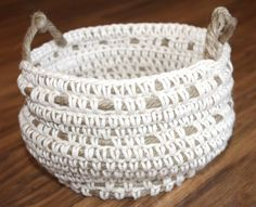 crochet basket - Google Search
