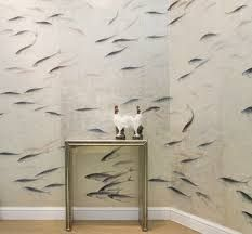 de gournay fishes wallpaper - Recherche Google