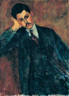 Amedeo Modigliani Ritratto di Jean Alexandre (retro), 1909 Olio su tela Collezione privata