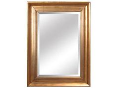 Shop for Yosemite Home Decor Mirror - Antique Golden Effect Frame, YM011G1-90, and other Accessories Mirrors at Westside Foundry in Atlanta, GA. Open up the look of your space with the addition of this mirror.  An adaptable design and dependable utility make this mirror a simple solution to providing fashionable function.  33.5w x 46.5h