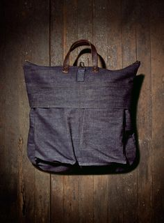we are all smith denim bag