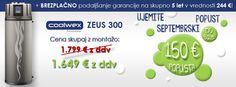 Coolwex septembrski popusti http://www.varcno-ogrevaj.si/toplotna-crpalka-za-ogrevanje-sanitarne-vode-coolwex-zeus-300/