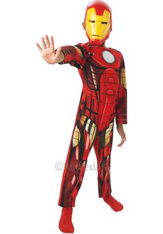 Kids Iron Man Classic Costume by Marvel - General Kids Costumes at Escapade™ UK - Escapade Fancy Dress on Twitter: @Escapade_UK