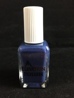 SBP: Past the Heather Down the Old Road  Description: Denim blue creme with purple micro shimmer.