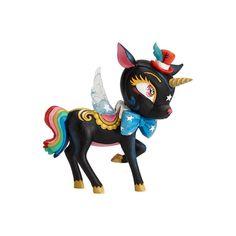 Enesco The World of Miss Mindy Night Unicorn Stone Resin Figurine Multicolor
