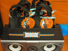 """Inspiration for Celebration: """"4 ROCKS""""- Rock and Roll Birthday Party"""