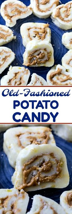 Old-Fashioned Potato Candy- only 3 ingredients! #Christmas #candy