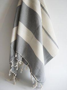 Turkish bath towel, I really want a set.  Really, really, badly.