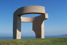 The Eulogy to the Horizon of Eduardo Chillida, one of the most known symbols of Gijón.