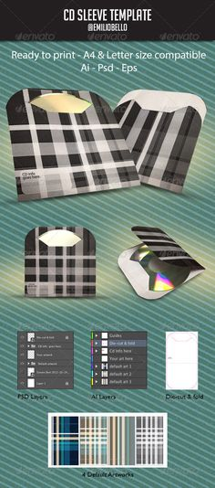 Check out this easy to use and construct CD Sleeve