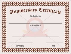 Fake adoption certificate fake certificate pinterest for Work anniversary certificate templates