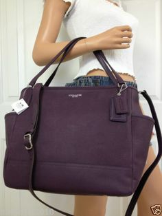 baby bag tote in saffiano leather
