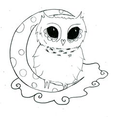 Small Owl Tattoos | Owl Tattoo Design By Rebecca Jobling