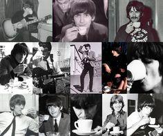 George loves his tea!