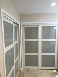 2030 Series Composite White 3 Lite Tempered Frosted Glass Sliding Door 2030  At The Home Depot   Mobile