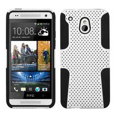 MYBAT Astronoot Hybrid Protector Case for HTC One Mini - White/Black