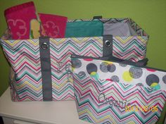 Perfect combo for a day at the pool or a play date at the park!! Large Utility tote,thermal tote and the new pocket-a-tote    thirty-one gifts