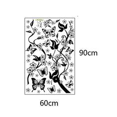 pegatinas de pared Tatuajes de pared, flores casa cotizaciones decoración pegatinas de PVC de pared 2016 - $14.99