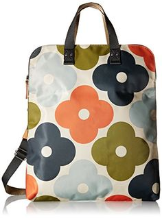 Orla Kiely Giant Flower Spot Print Foldover Tote Multi >>> For more information, visit image link. (This is an affiliate link) Missoni, Orla Kiely Bags, Hard Suitcase, Giant Flowers, Summer Bags, Beautiful Bags, Diaper Bag, Purses And Bags, Shopping