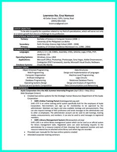 Resume for Computer Science . Resume for Computer Science . Resume Sample for Job Archives Saveburdenlake org New Puter Student Cv Examples, Resume Objective Examples, Good Resume Examples, Student Resume, Job Resume, Best Resume, Manager Resume, Internship Resume, Sample Resume Templates