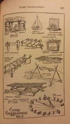 Camp Improvements 2 - Handbook for Patrol Leaders 1949