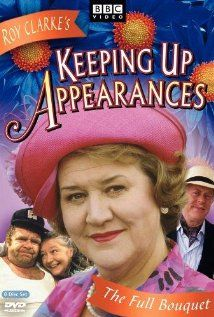 """Hyacinth Bucket (pronounced """"bouquet"""") continually looks for opportunities to climb the social ladder, though she's wedged on a rung just below her sister Violet  and just above her working class sisters Daisy and Rose. Hyacinth's passion for flawless entertaining unnerves her neighbor Elizabeth, who is often invited to the Bucket home for coffee."""