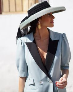 Vogue, Office Attire, Blazer Jacket, Preppy, Vintage Dresses, Summer Outfits, Party Dress, Short Dresses, Street Style