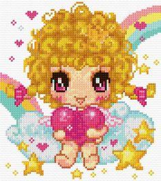 Cross Stitch | Fairy of Love xstitch Chart | Design