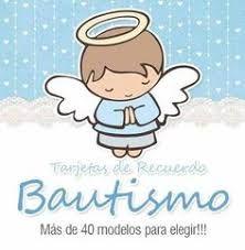 Resultado de imagen para angelitos de bautizo