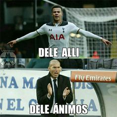 Está la cosa mala en el Madrid #memes #fun #funny #funnymemes #humor #risas #mood #laughs #smile #futbol #sport #deporte #football #soccer #champions #realmadrid #tottenham #delealli #zidane http://quotags.net/ipost/1639221897357226214/?code=Ba_r6F0BPDm