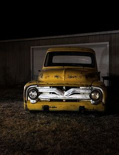 Old Yellow Truck = LOVE