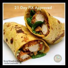 21 Day Fix Lunch recipe ideas