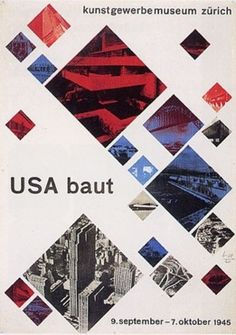 Max Bill was an architect, painter, typographer, industrial and graphic designer. He studied at the Bauhaus until late 1920's when he moved to Zurich where he became a teacher and prime member of the Allianz group of graphic designers.