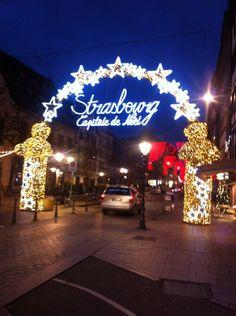 Weihnachtszeit in Straßburg