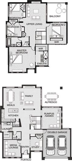 Two Story Cottage House Plan Cottage Floor Plans Floor
