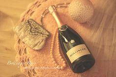 New bottle of Champagne Bollinger Rose
