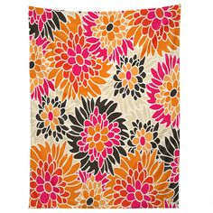 Andrea Victoria Summer Tango Floral Tapestry | DENY Designs Home Accessories