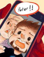 Los vengadores: te extraño Peter!