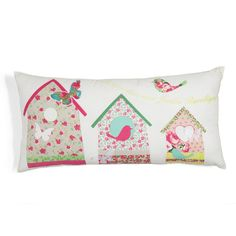 Cuscino Giardino bucolico Textiles, Sewing Toys, Pin Cushions, Fabric Crafts, Machine Embroidery, Bed Pillows, Applique, Cross Stitch, Arts And Crafts