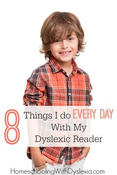 These are the daily habits that help my dyslexic reader to be more successful. Repinned by SOS Inc. Resources pinterest.com/sostherapy/.