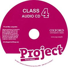 Project 4 3rd Edition Class Audio CD 3