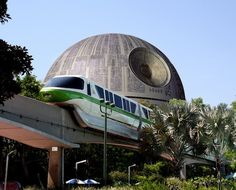 Now that Disney owns the Star Wars universe, they should replace Spaceship Earth with a Death Star at EPCOT.