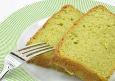 Green Tea Coconut Pound Cake
