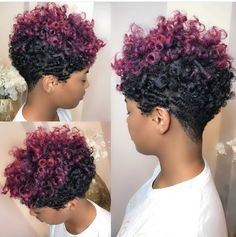 Fabulous TWA Hairstyles Inspiration for Short Natural Hair - Part 44 Fabulous TWA Hairstyles Inspiration for Short Natural Hair hair Natural Hair Cuts, Natural Curls, Natural Hair Styles, Tapered Natural Hairstyles, Colored Natural Hair, Twa Hairstyles, Black Hairstyles, Famous Hairstyles, American Hairstyles