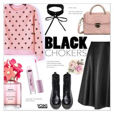 """""""Black Chokers ~ Yoins #10"""" by alexandrazeres ❤ liked on Polyvore"""