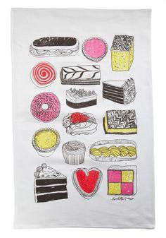 How cute is this tea towel?!?!